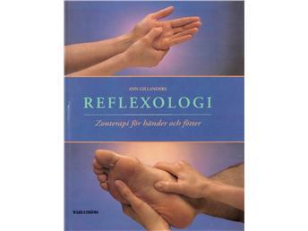 """Gillanders, Ann """"Reflexologi - zonterapi för händer och fötter"""" KARTONNAGE"""