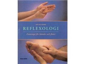 """Gillanders, Ann """"Reflexologi - zonterapi för händer och fötter"""" KARTONNAGE SLUTSÅLD"""