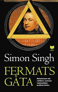 """Singh, Simon """"Fermats gåta : så löstes världens svåraste matematiska problem"""" HÄFTAD SLUTSÅLD"""