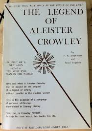 "Stephensen, P R & Regardie, Israel ""The Legend of Aleister Crowley"" HÄFTAD 1970 SLUTSÅLD"