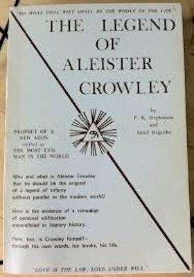 """Stephensen, P R & Regardie, Israel """"The Legend of Aleister Crowley"""" HÄFTAD 1970 SLUTSÅLD"""