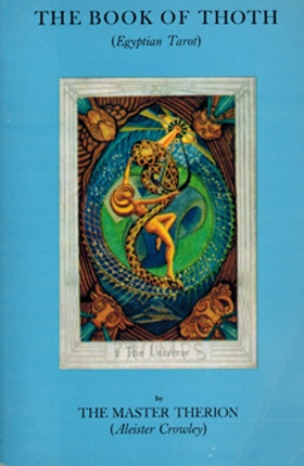 """Crowley, Aleister; Therion, The Master """"The Book of Thoth: A Short Essay on the Tarot of the Egyptians, Being the Equinox Volume III No. V"""" HÄFTAD SLUTSÅLD"""