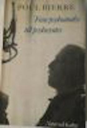 """Bjerre, Poul """"Från psykoanalys till psykoanalys"""" HÄFTAD SLUTSÅLD"""