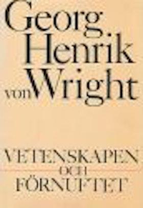 """Wright, Georg Henrik von """"Vetenskapen och förnuftet"""" INBUNDEN"""