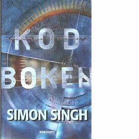 """Singh, Simon """"Kodboken : konsten att skapa sekretess - från det gamla Egypten till kvantkryptering"""" INBUNDEN SLUTSÅLD"""