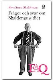 """Skaldeman, Sten Sture """"Frågor och svar om Skaldemans Diet -  FAQ"""" HÄFTAD SLUTSÅLD"""