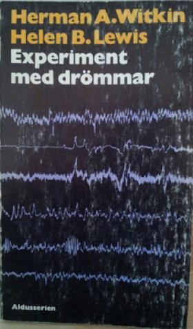 """Witkin, Herman A & Lewis, Helen B """"Experiment med drömmar"""" POCKET SLUTSÅLD"""