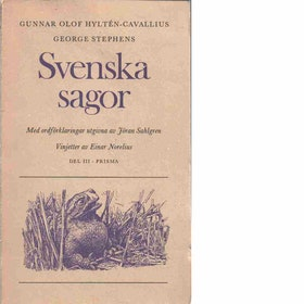 "Hyltén-Cavallius, Gunnar Olof ""Svenska sagor - Del III"" POCKET"