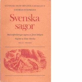 "Hyltén-Cavallius, Gunnar Olof ""Svenska sagor - Del II"" POCKET"