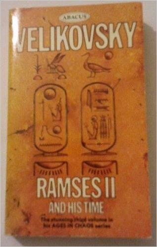 "Velikovsky, Immanuel ""Ramses II and his time"" POCKET"