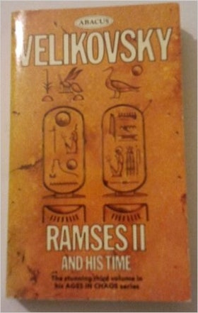 "Velikovsky, Immanuel ""Ramses II and his time"" POCKET"