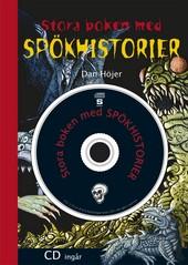 """Höjer, Dan """"Stora boken med spökhistorier"""" KARTONNAGE + CD"""