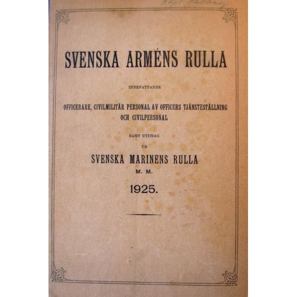 Svenska arméns rulla. 1900