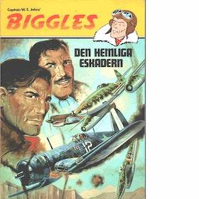 """Stjernvik, Stig """"Biggles och hemliga eskadern"""" SERIEHÄFTE"""