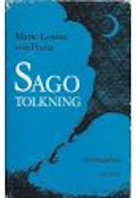 "Franz, Marie-Louise von ""Sagotolkning : en introduktion"" INBUNDEN SLUTSÅLD"