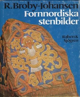 """Broby-Johansen, Rudolf """"Fornnordiska stenbilder"""" INBUNDEN"""