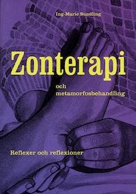 """Sundling, Ing-Marie """"Zonterapi och metamorfosbehandling : reflexer och reflexioner"""" KARTONNAGE SLUTSÅLD"""