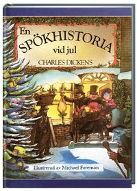 """Dickens, Charles """"En spökhistoria vid jul"""" INBUNDEN"""