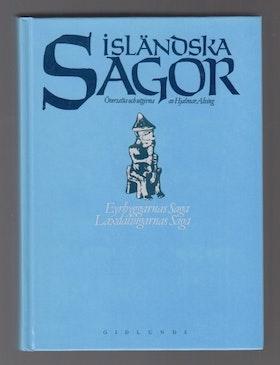 """Alving, Hjalmar (övers.) """"Isländska sagor, Del 1 - Eyrbyggarnas saga, Laxdalingarnas saga"""" INBUNDEN"""