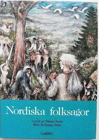 """Stybe, Vibeke (Red) """"Nordiska folksagor"""" INBUNDEN"""