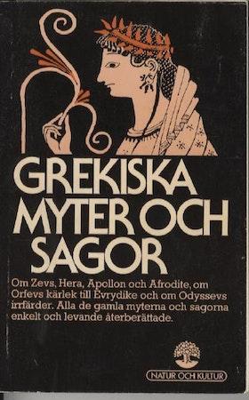 """Lindskog, Claes """"Grekiska myter och sagor"""" POCKET"""