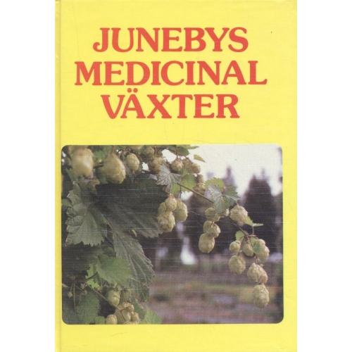 """Juneby, Hans Bertil """"Junebys medicinalväxter"""" KARTONNAGE SLUTSÅLD"""