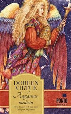 """Virtue, Doreen """"Änglarnas medicin"""" INBUNDEN SLUTSÅLD"""