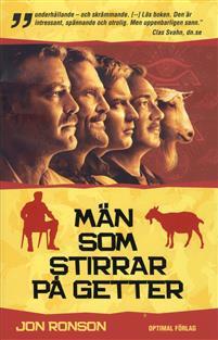 "Ronson, Jon ""Män som stirrar på getter"" INBUNDEN SLUTSÅLD"
