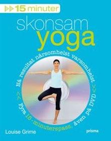 """Grime, Louise """"15 minuter skonsam yoga"""" INBUNDEN + CD"""