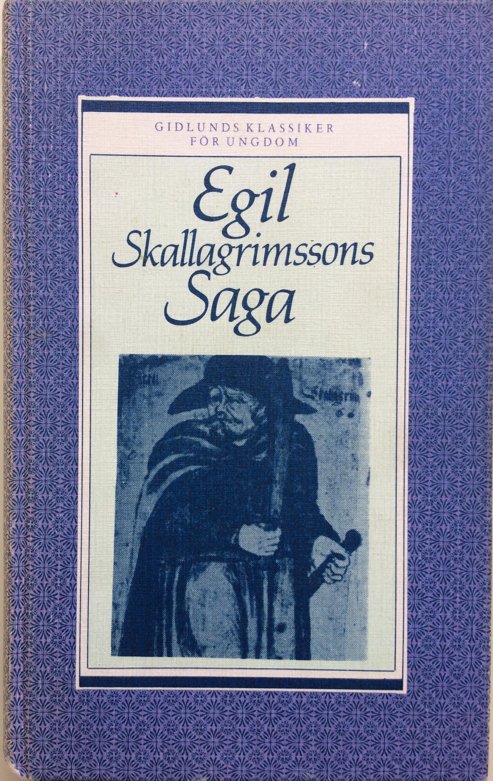 """Alving, Hjalmar (övers.) """"Egil Skallagrimssons saga"""" KARTONNAGE"""