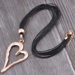 Halsband Heart of Gold
