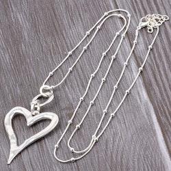 Halsband spanky heart