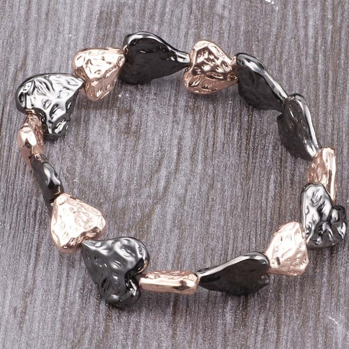 Armband heart love rose