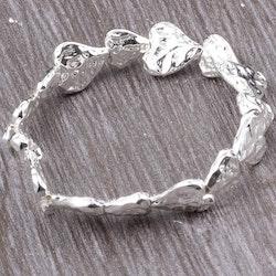 Armband heartlove silver