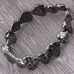 Armband heartlove black