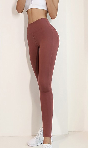Narrow Fitness-tights Grey