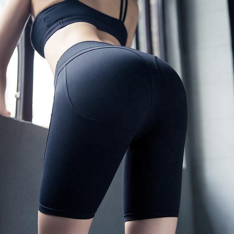 Narrow långa shorts