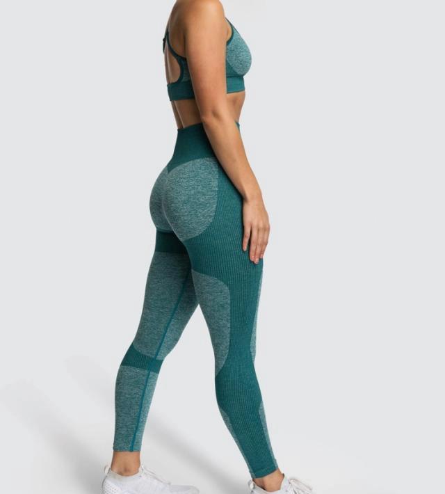 Zhiva Yoga/gym-set grönt