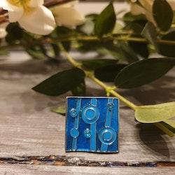 Ring blue dotty