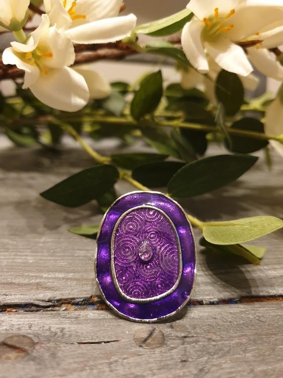 Ring violetglow