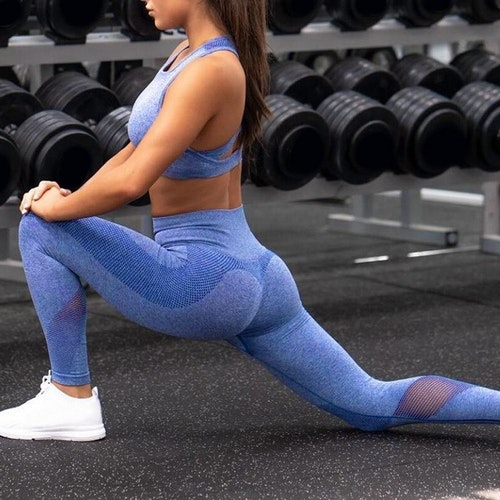 Mayha Fitness/gym-tights Blue