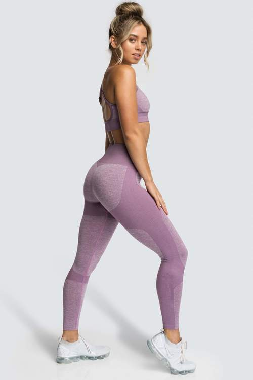 Zhiva Yoga/Gym-set lila