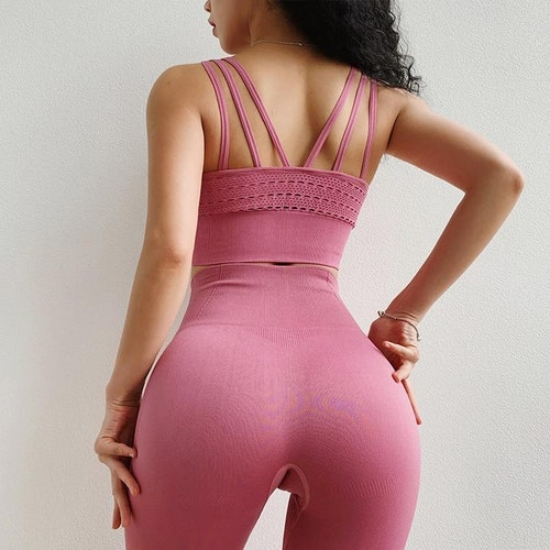 Tiana Yoga/gym-set Rosa
