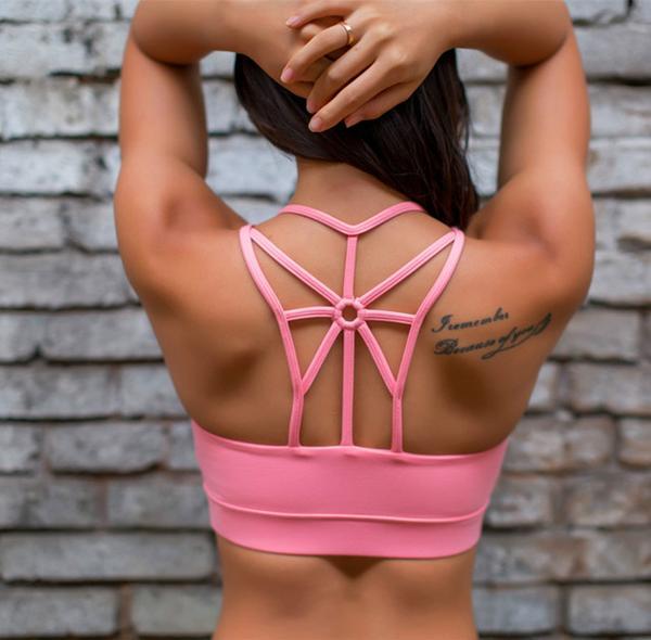 Lala Sportbh hot pink
