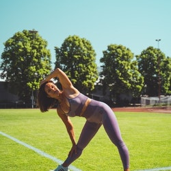 Zhiva Fitness/gym-tights lila