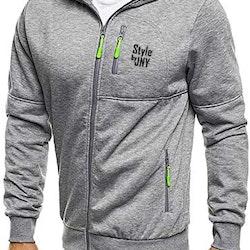 Gym Hoodie Grey/lime
