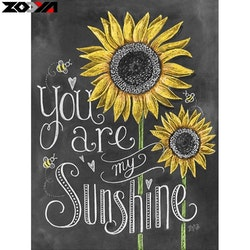 Diamanttavla (R) My Sunshine 40x50