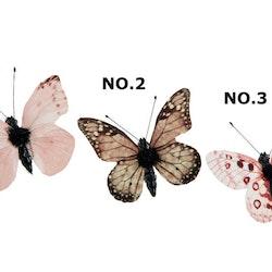 Fjäril Clip NO.3  5 cm