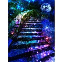 Diamanttavla Homeland Stairs 50x70 - Leveranstid 1-3 Dagar
