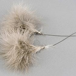 Fjäder Pudervippa Mullvad 12-Pack
